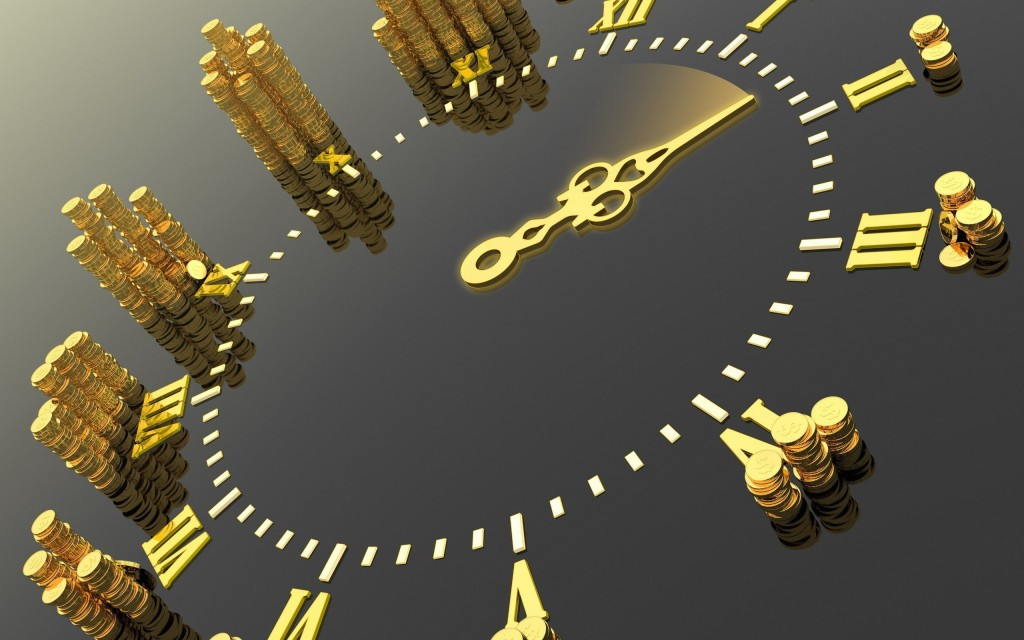 gold coins watch 2560x1600